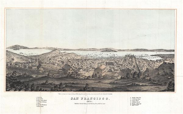 San Francisco. 1856.
