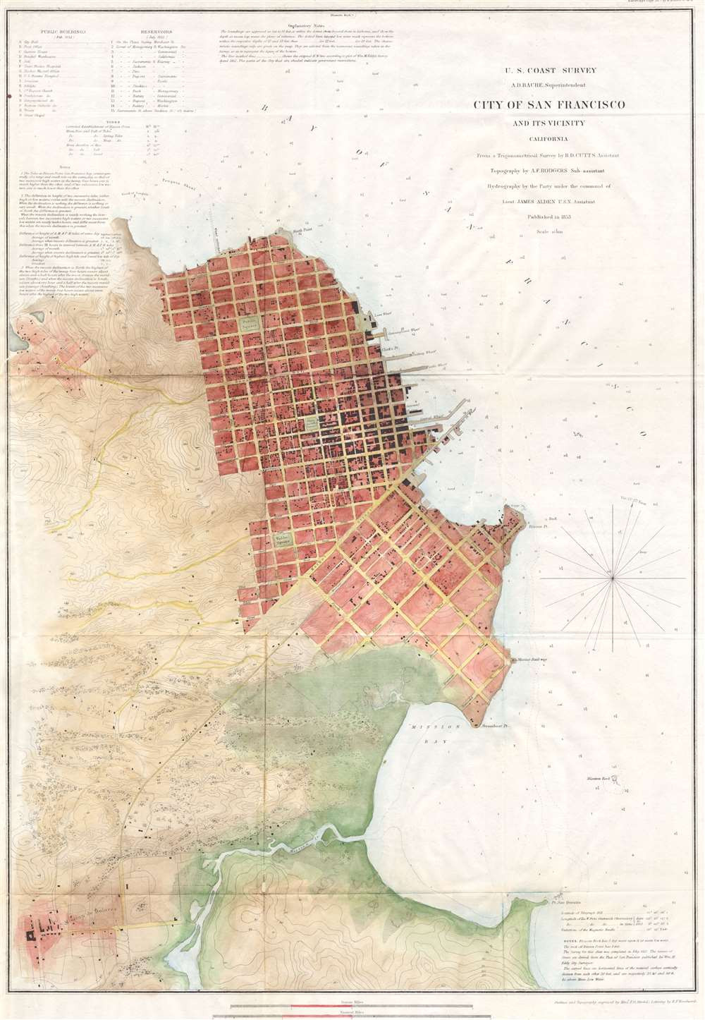 City of San Francisco and its Vicinity California.