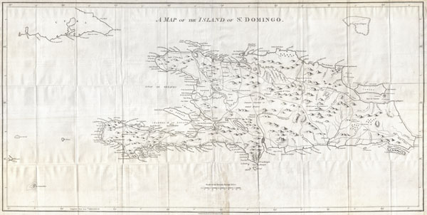 A Map of the Island of St. Domingo.