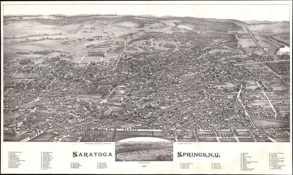 Saratoga Springs, N.Y. - Main View