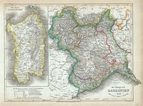 Das Konigreich Sardinien. - Main View