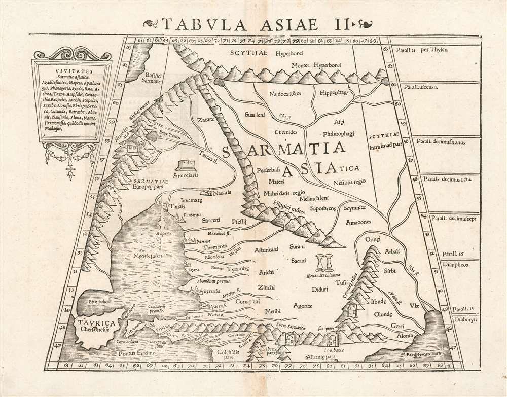 Tabula Asiae II. - Main View