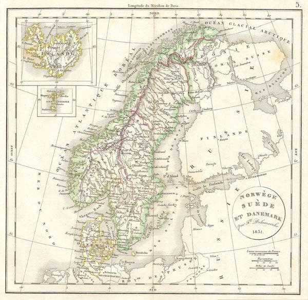 Norwege Suede et Danemark. - Main View