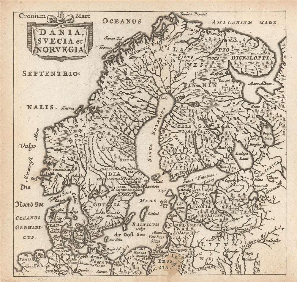 Dania, Suecia et Norvegia. - Main View