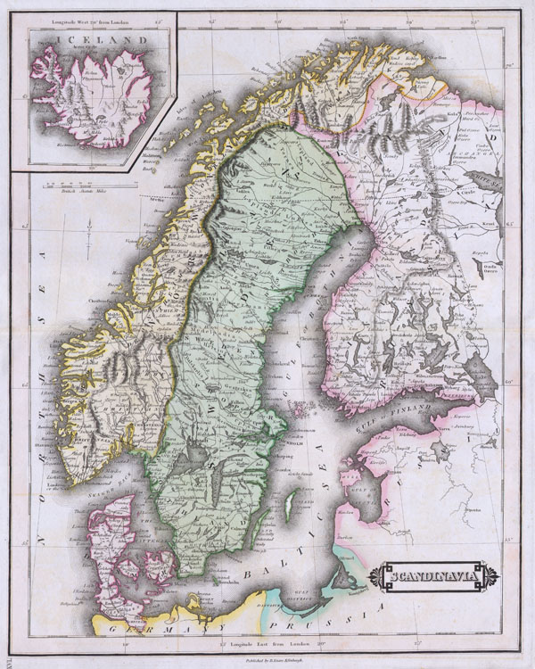 Scandinavia. - Main View