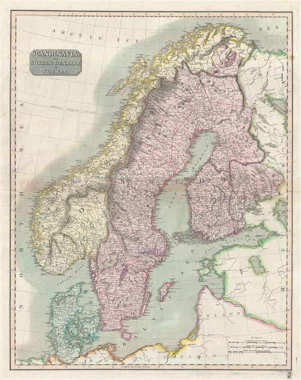 Scandinavia or Sweden, Denmark & Norway - Main View