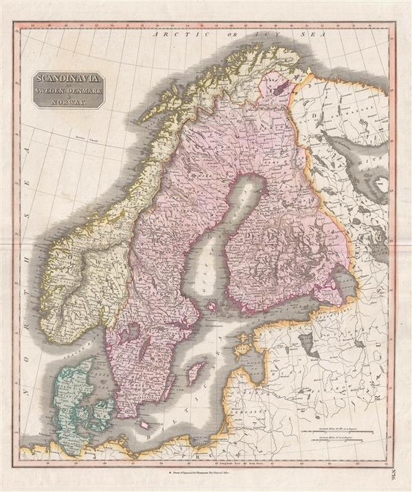 Scandinavia, or Sweden, Denmark and Norway.