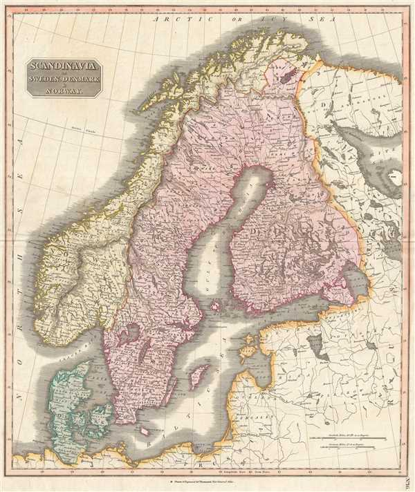 Scandinavia, or Sweden, Denmark and Norway. - Main View