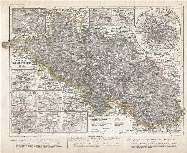 Provinz Schlesien.