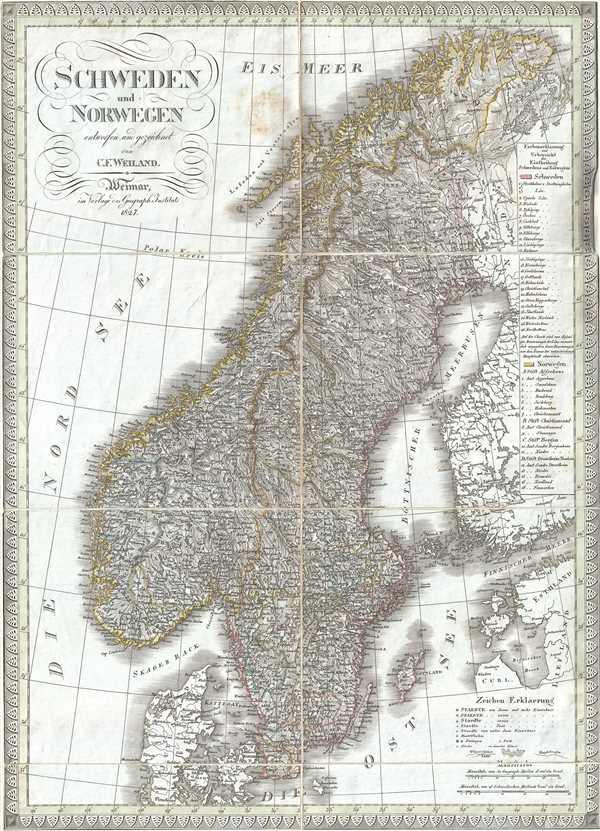 Schweden und Norwegen.