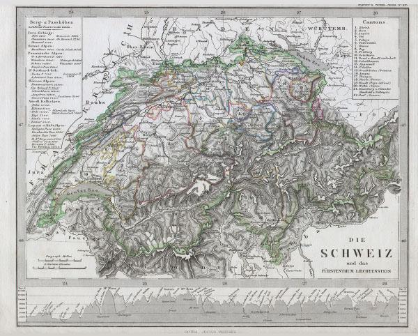 Sud-ostliches Deutschland.