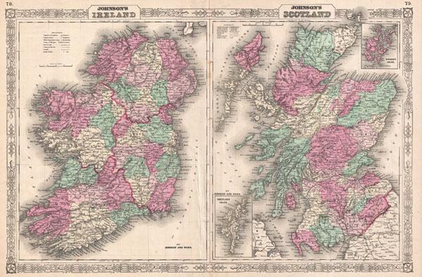 Johnson's Ireland.  Johnson's Scotland.