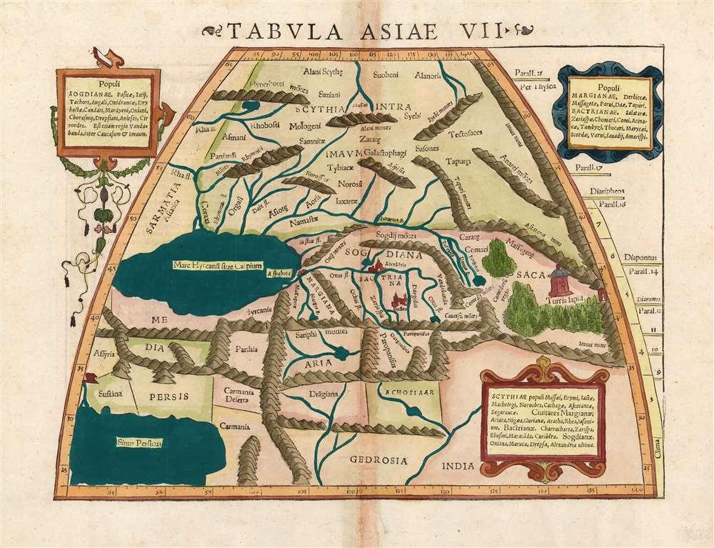 Tabula Asiae VII. - Main View
