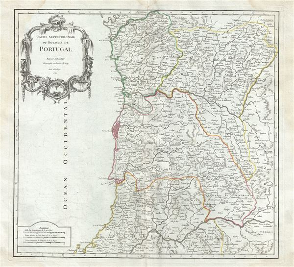 Partie Septentrionale du Royaume de Portugal. - Main View