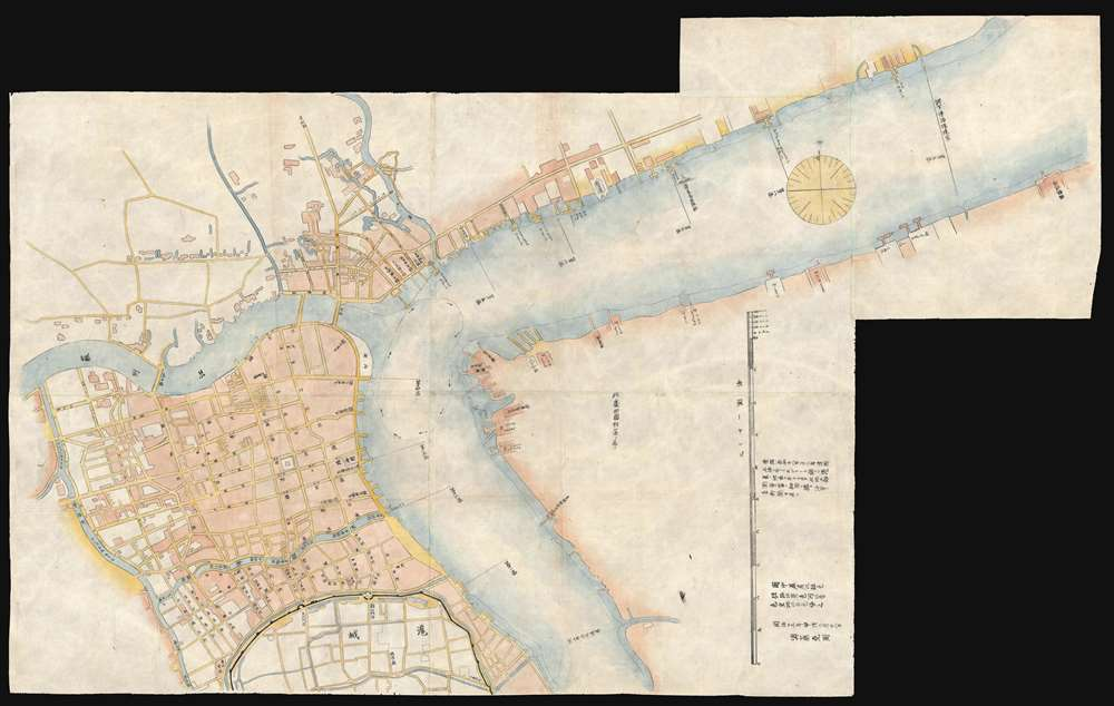 Shanghai, China]: Geographicus Rare Antique Maps