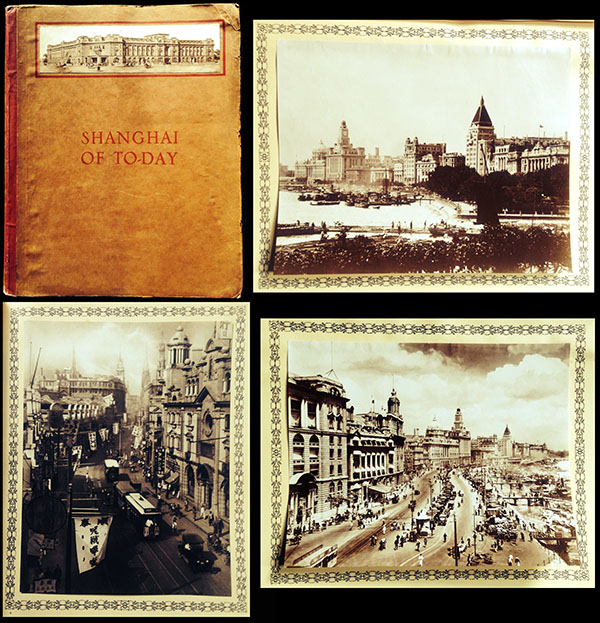 Shanghai of To-day. A Souvenir Album of Fifty Vandyke Gravure Prints of the 'Model Settlement' - Main View