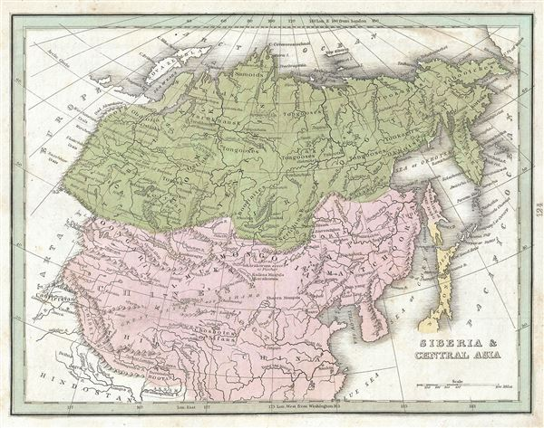 Siberia and Central Asia.