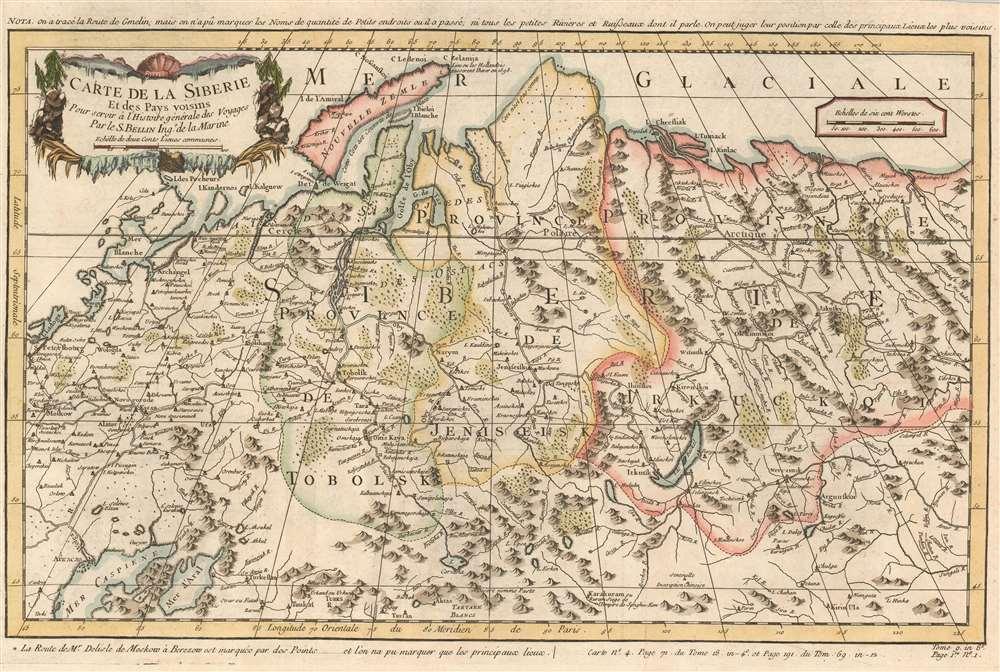 Carte de la Siberie et des Pays voisins. - Main View