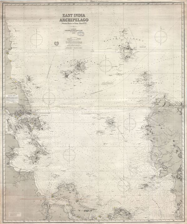 East India Archipelago (Western Route to China Chart no. 2)