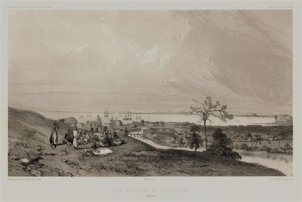 Rade et Ville de Sincapour. (Malaisie). - Main View