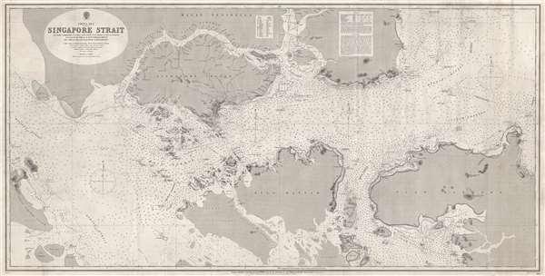 China Sea Singapore Strait. - Main View