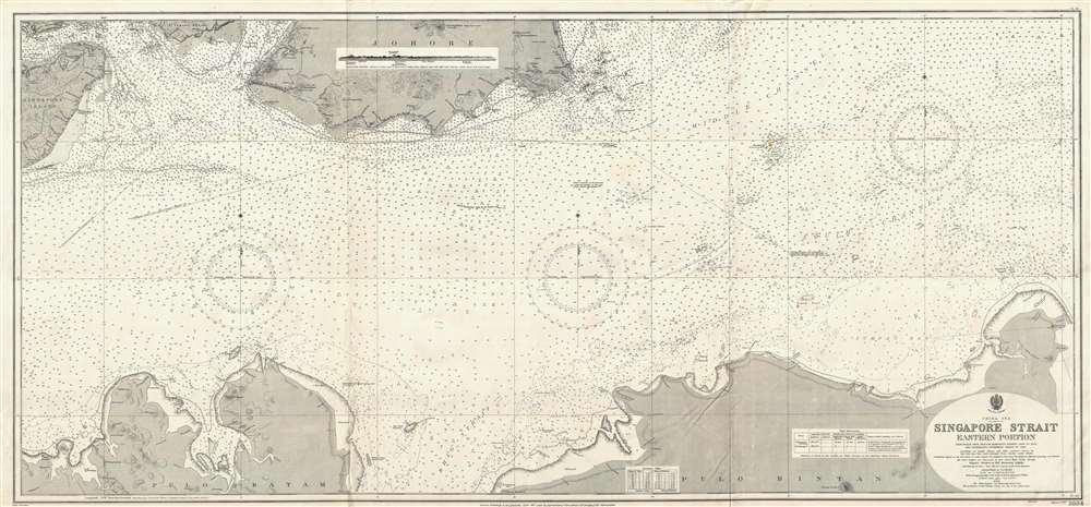 China Sea Singapore Strait Eastern Portion.
