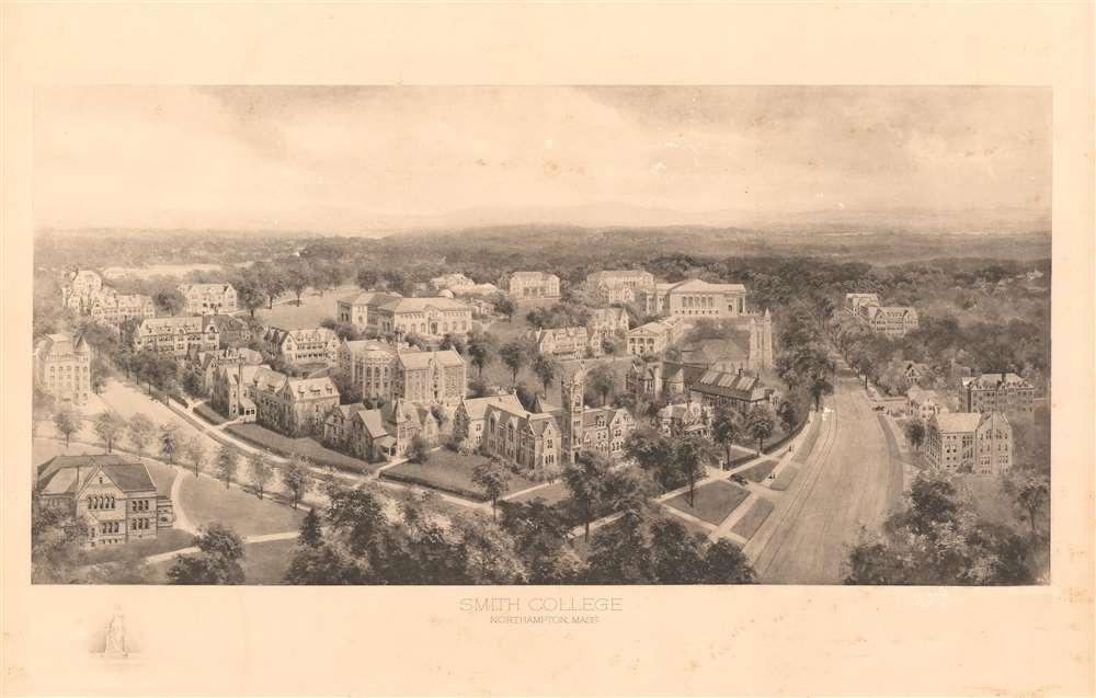 Smith College Northampton, Mass. - Main View