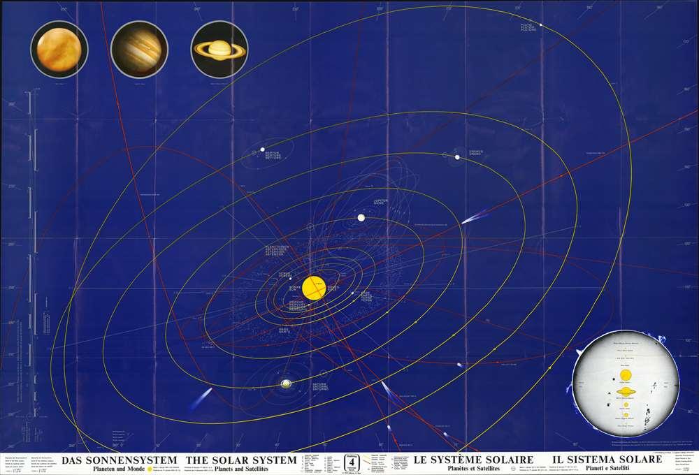 Das Sonnensystem : Planeten und Monde - The Solar System : Planets and Satellites - Le Système Solaire : Planètes et Satellites - Il Sistema Solare : Pianeti e Satelliti. - Main View