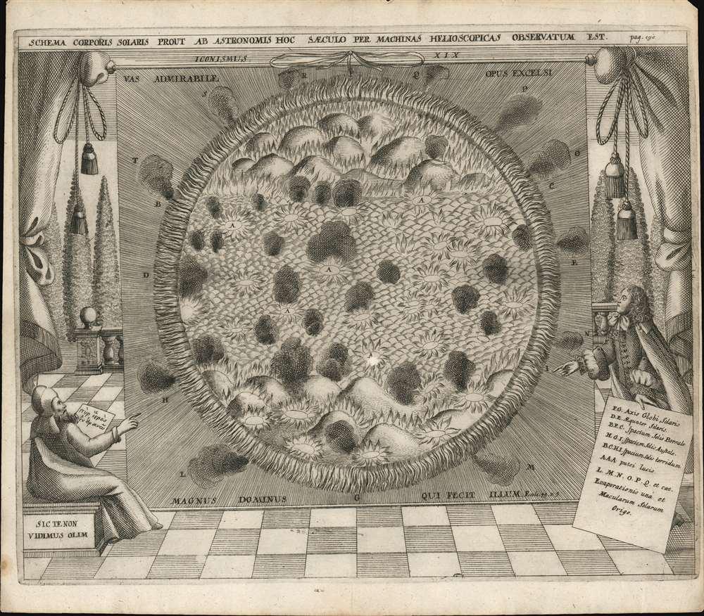 Schema corporis solaris prout ab astronomis hoc saeculo per machinas helioscopicas observatum est. - Main View