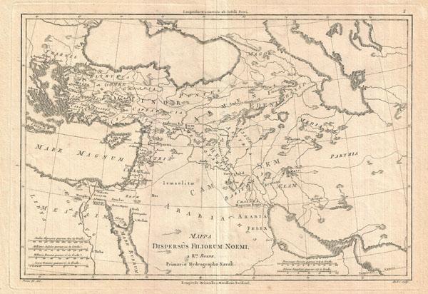 Mappa Dispersus Filiorum Noemi