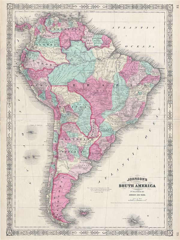 Johnson's South America.