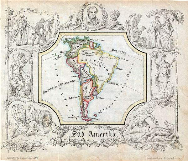Sud Amerika.