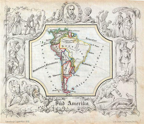 Sud Amerika. - Main View