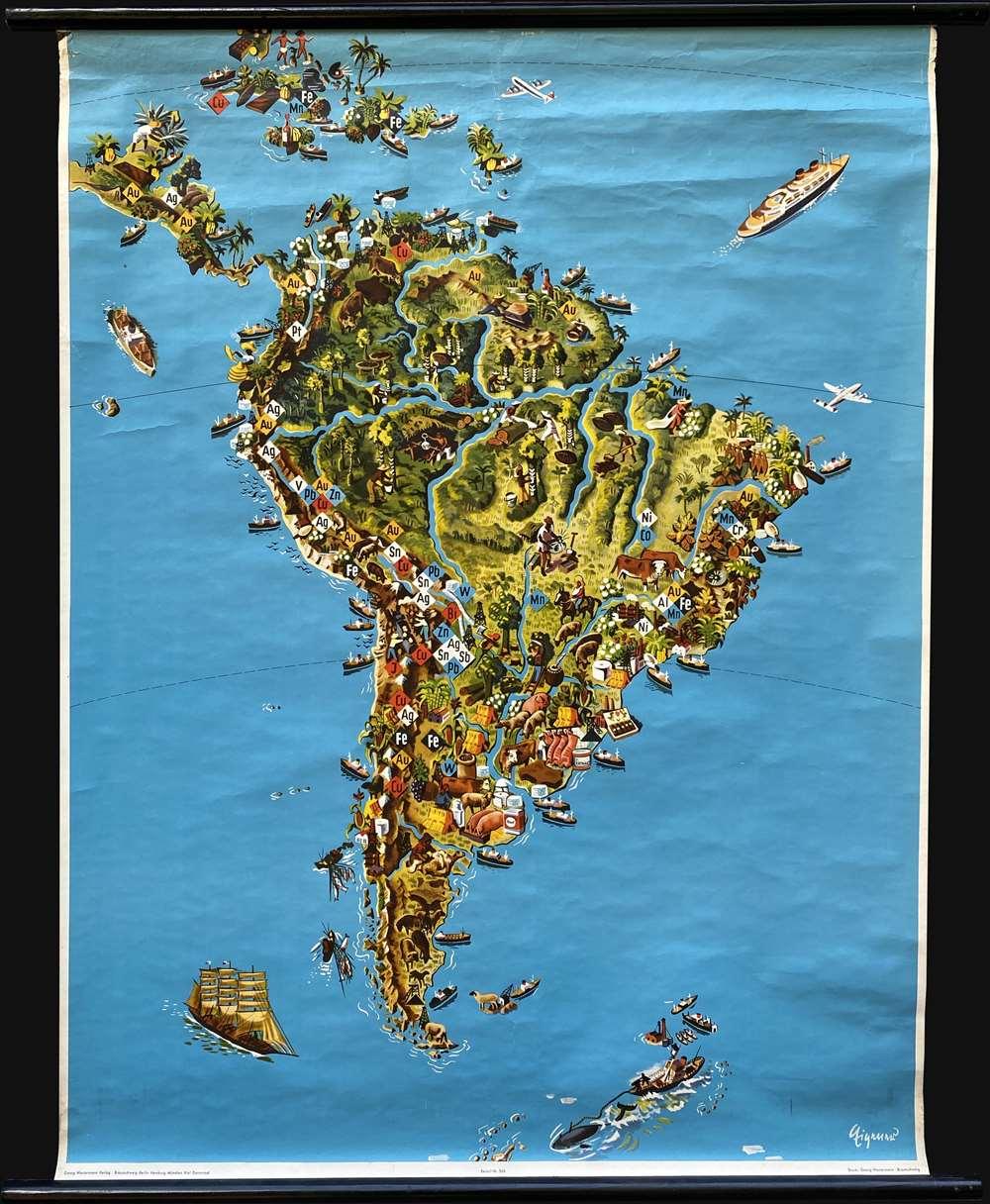 [Südamerika]. - Main View