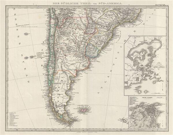 Der Sudliche Theil von Sud-America.