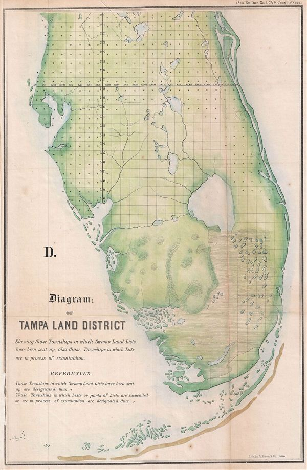 D.  Diagram: of Tampa Land District.