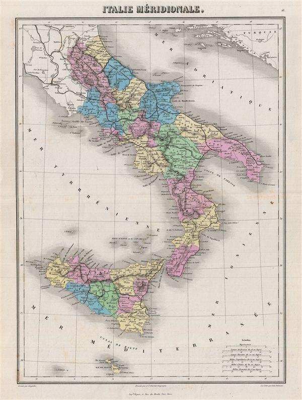 Italie Merdionale.