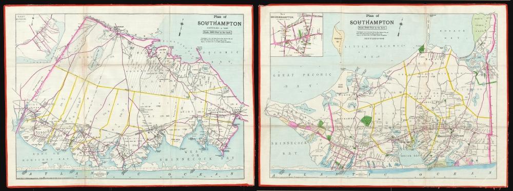 Southampton Town and Village. - Alternate View 1