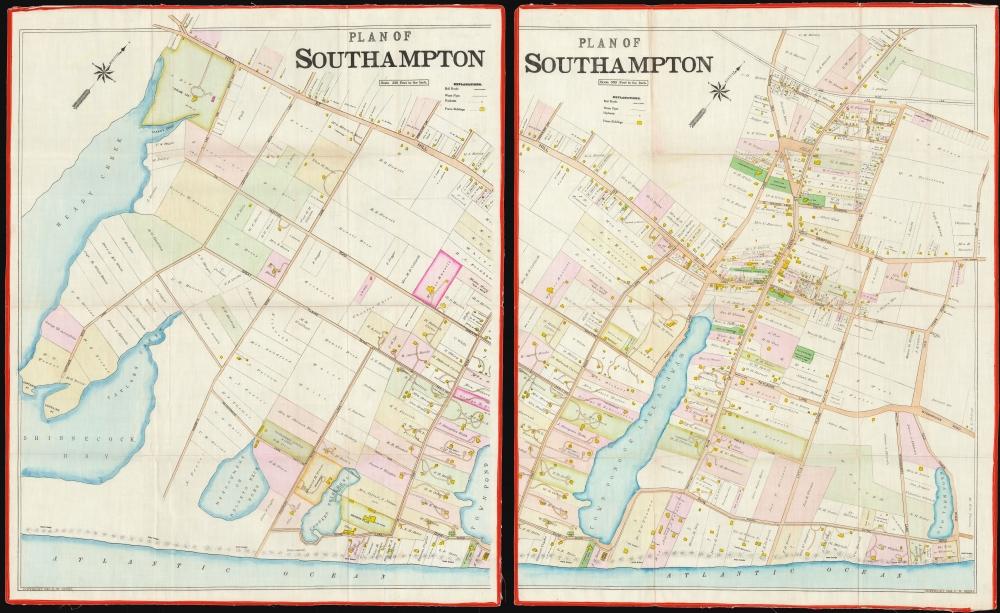 Southampton Town and Village. - Alternate View 2