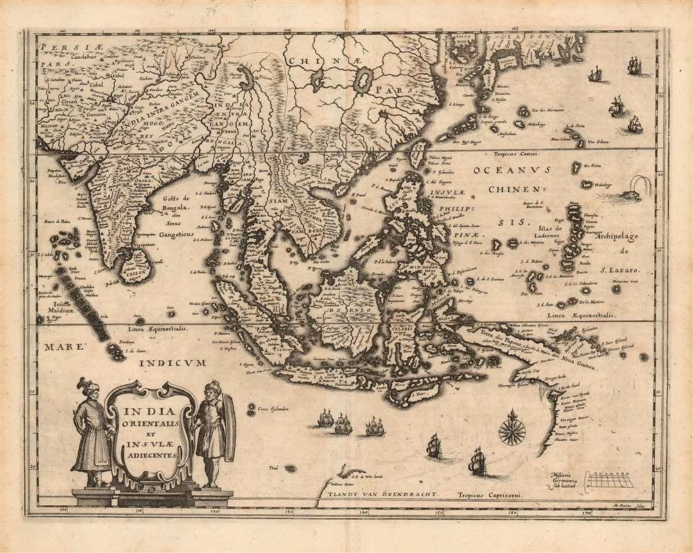 India Orientalis et Insulae Adiecentes. - Main View