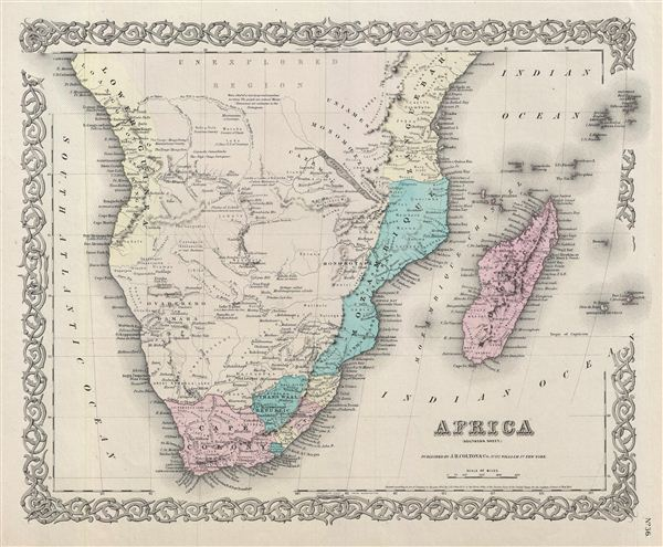 Africa Southern Sheet. - Main View
