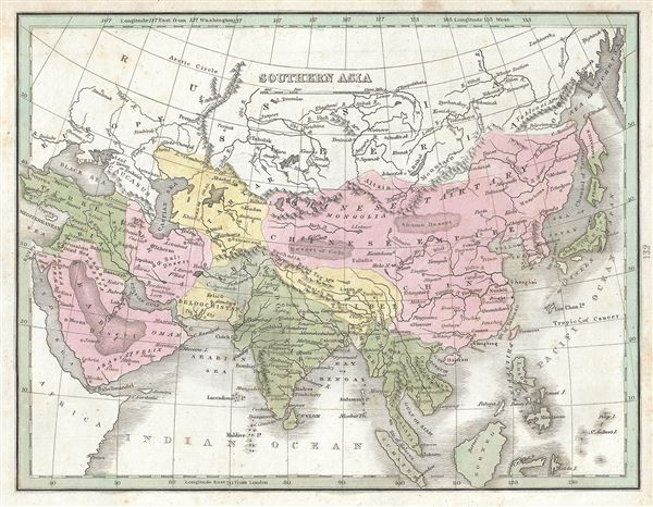 Southern Asia. - Main View