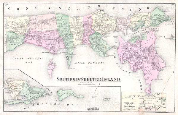 Southold and Shelter Island Suffolk Co. L.I.