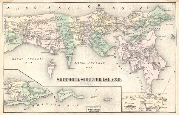 Southold and Shelter Island Suffold Co. L.I. - Main View