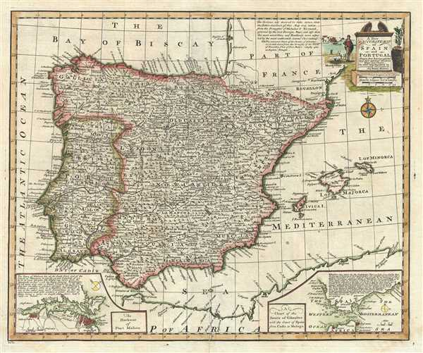 A New and Accurate Map of Spain and Portugal.
