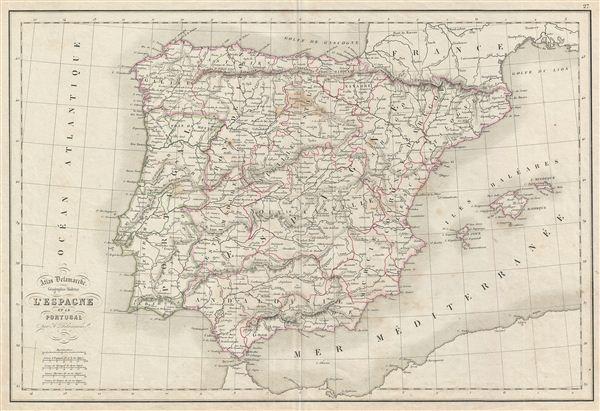 l'Espagne et le Portugal.