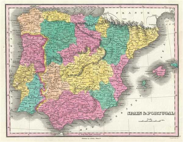 Spain and Portugal.