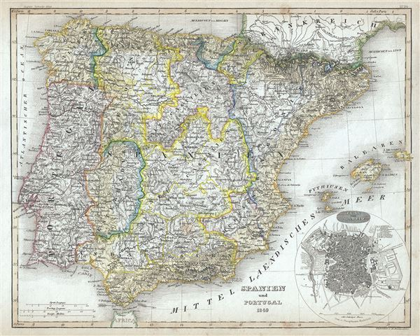 Spanien und Portugal. - Main View