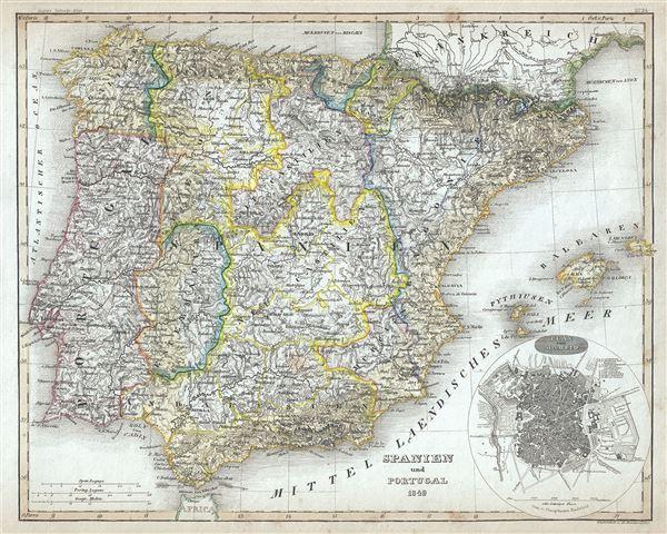 Spanien und Portugal.