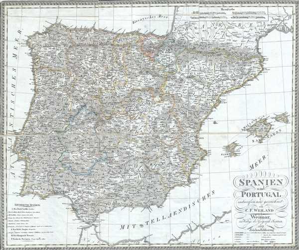 Spanien und Portugal. - Main View